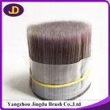 Filamento sólido hueco afilado PBT de la cerda del plástico para el cepillo de pintura