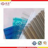Рифленый лист прозрачной пленки Greca поликарбоната Bayer материальный