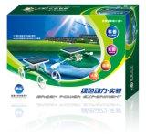 Juguete combinado solar educativo del modelo del kit del coche y del barco