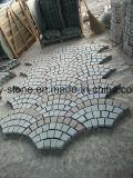 Würfel-/Kopfstein-Pflasterung-Stein des Granit-G654/G603/G684/G682/G654 für Landschaft, Garten