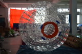 Bola inflable de Zorb, bola humana inflable gigante del hámster, bola de Zorb, montar a caballo del globo de Zorbing