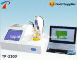 Instrumento culombiométrico automático da medida do índice de água de Karl Fischer (TP-2100)