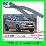 Сбросы дождя вспомогательного оборудования окна автомобиля для Hyundai Tucson 2013
