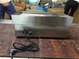 Griglia e piastra elettriche di Comercial per cuocere alimento alla griglia (GRT-E550-2)