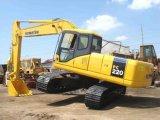 Máquina escavadora usada PC200-7 de KOMATSU, máquina escavadora usada PC200-7 da esteira rolante de KOMATSU