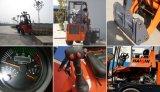 Haiqinのブランドのセリウムは雪の刃が付いている0.8トンの小型ローダー(HQ908)を承認した