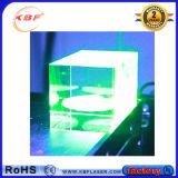 Máquina 5W / 7W / 15W de alta precisión láser verde interior de grabado de cristal
