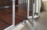 Openess máximo que resbala la puerta de aluminio plegable