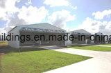 Hangares de los aviones del marco de acero del certificado de la ISO