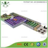 Patentiertes Abnehmer-Entwurfs-Trampoline-springendes Gerät