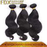 Form-brasilianische menschliche Jungfrau-Haar-Großhandelspreis-Karosserien-Wellen-natürliche Farbe