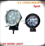 45W Round CREE LED Work Light for 4X4 SUV