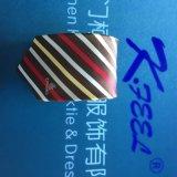 Cravate de piste personnalisée par polyester avec le logo tissé