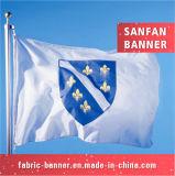 Печатание волны цены по прейскуранту завода-изготовителя изготовленный на заказ резвится флаг, рекламируя флаг