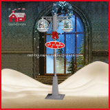 Weihnachten Tree Weihnachtsmann Decoration Street Light mit LED