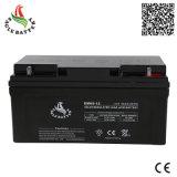 12V 65ah AGM de Zonne Navulbare Verzegelde Zure Batterij van het Lood VRLA