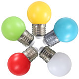 Bulbos ahorros de energía de la lámpara ligera colorida LED de E27 3W