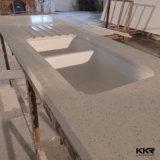 Fabrik-kundenspezifische Größen-künstlicher MarmorkücheCountertop