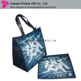 Promozione Full Color Printed Non-Woven Tote Shopping Bag con Laminated