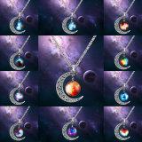 Ювелирных изделий способа ожерель ожерелья шкентеля сплава Gemstone привесных корейских дешевые