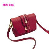 Form-Frauen-Handtaschen-Ebenen-Leder-Handtaschen-Handtasche