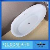 Bañera libre de acrílico blanca alto Polished para la venta Jr-B820