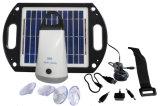 Sistema solare poco costoso per illuminazione domestica e l'escursione ed accamparsi