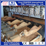 Máquina do Woodworking para os pés curvados antiguidade do sofá, corrimão, figuras