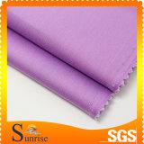 Tessuto della saia del ringrosso dello Spandex del cotone con la lavata del silicone Oil+Soft