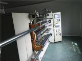 Usado do papel automático que corta e máquina do rebobinamento