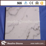 Guangxiの安い白い石造りの大理石のタイル