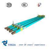 Única Segurança Pole Duplas Conductor Rail System para o guindaste da grua (DHHT Series)