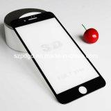 pour l'iPhone 7 3D positifs 9h ont courbé le butoir de protecteur d'écran en verre Tempered de bord
