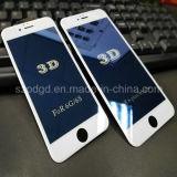 para el iPhone 6/6s más protector azul anti curvado 9h de la pantalla del vidrio Tempered del rayo del borde 3D