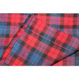 Großhandels-Kleidungs-neues Entwurfs-Form-Baumwollfrauen-Plaid-Hemd 100%