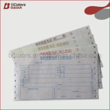 Fábrica de impresión de facturas triplicado libro