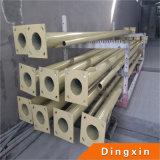 5m, 6m, 8m, 10m, 12m 13m 14m galvanisiertes elektrisches Stahlrohr