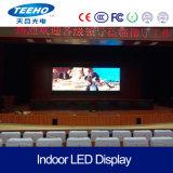 A elevação refresca a tela Rental interna video do diodo emissor de luz da parede P4 RGB