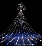 Lumière de Noël imperméable à l'eau de lumière de rideau en chaîne de caractères de DEL