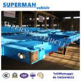 40FT 판매를 위한 3개의 차축 측벽 또는 반 문 화물 트럭 트레일러