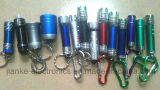 4071-Promotion en alliage d'aluminium LED Flashlight Keychain