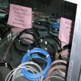 PVC Insulation Semi-Flexible Coaxial Cable per Communications