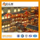 건축 모델 구성 모형 제작자 또는 전람 모형 또는 모형 또는 고대 아키텍쳐 모형