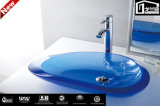 Sale chaud Sanitary Ware Colorful Translucent Pure Acrylic Wash Basin pour Bathroom Furniture