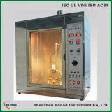 Cabo de fio de IEC60112 Pti CTI que segue a máquina do teste do deslocamento predeterminado