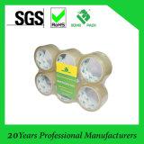 Ясная или желтовато лента /Packaging клейкой ленты