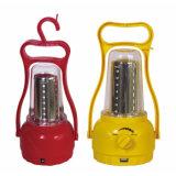 De regelbare Lamp van de Hand van de Helderheid Openlucht Zonne/het Draagbare het Kamperen 35 LEDs ZonneLicht van de Noodsituatie van de Lantaarn Navulbare
