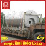 Pétrole lourd industriel de Wns et chaudière à eau chaude de chaudière à vapeur ou au fuel légère avec le bec