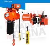 2t Portable Mini Electric Chain Hoist Winch Single/ Double Chain