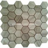 Style moderno Hexagonal Mosaic con Marble per 2016